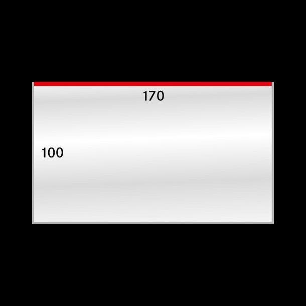 50 stk, beskyttelses lommer, 100x172, 883-1LP