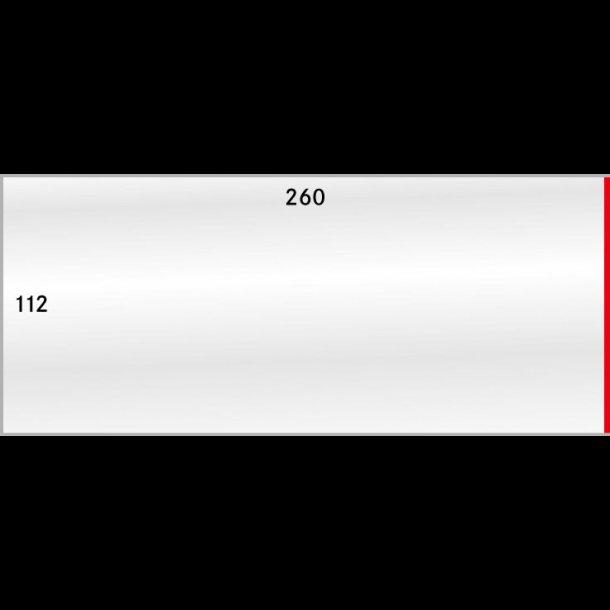 50 stk beskytttelses lommer, 112x260, 887-1P