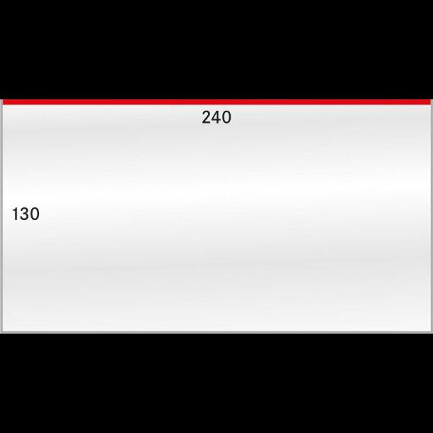 50 stk beskyttelses lommer, 130x240, 892LP