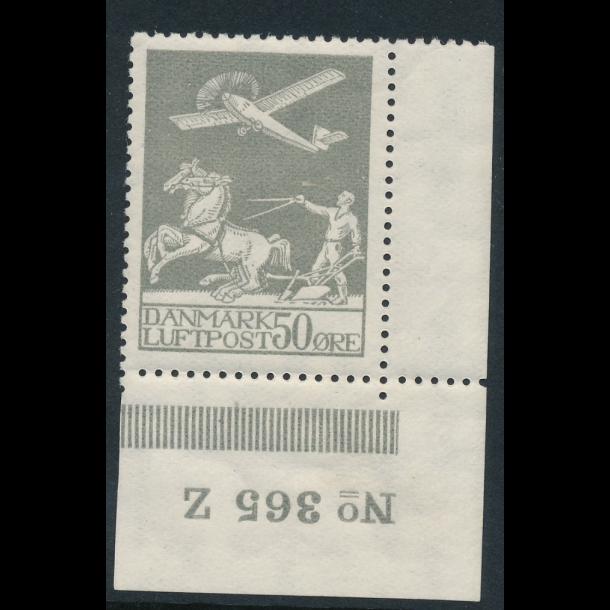 .181, *, frimærke, Danmark