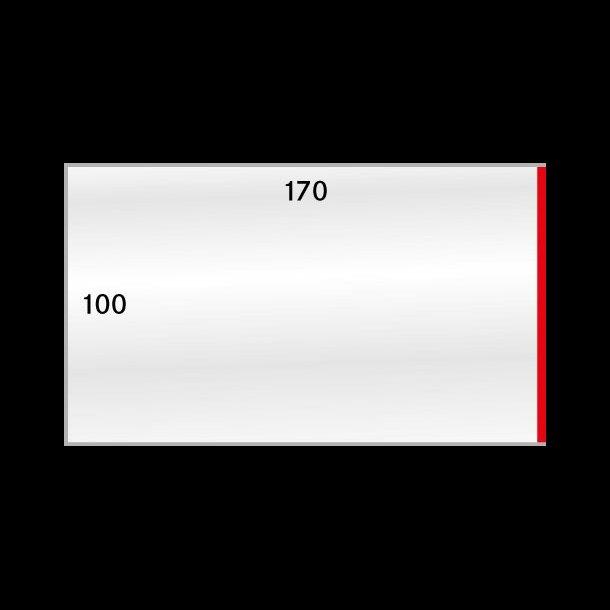 50 stk beskyttelses lommer, 100x170, 883-1P