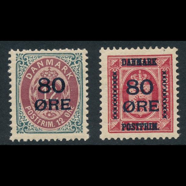 .82-83 *, frimærker, Danmark,