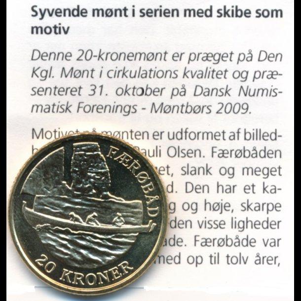 2009 20 Kroner Faerobaden Montbors Kbh 20 Kroner Samlerforum