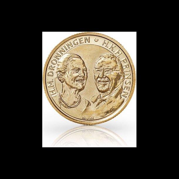 2017, 20 kroner, Margrethe II og HKH Prins Henrik's guldbryllup