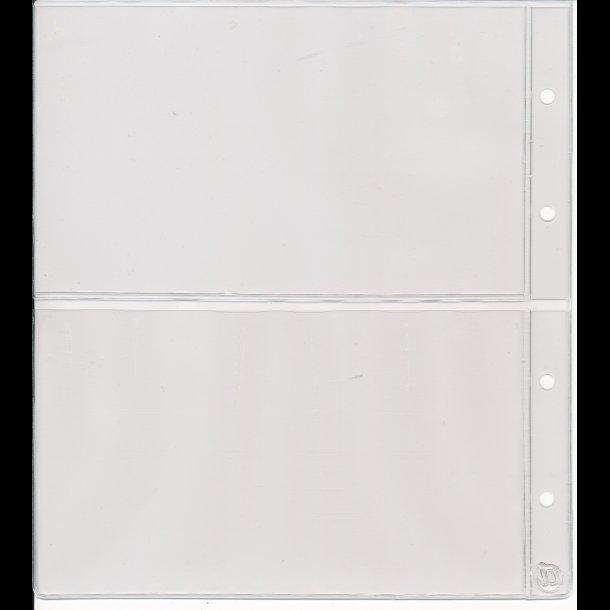 702, Pengeseddelblade med karton, 2 rum