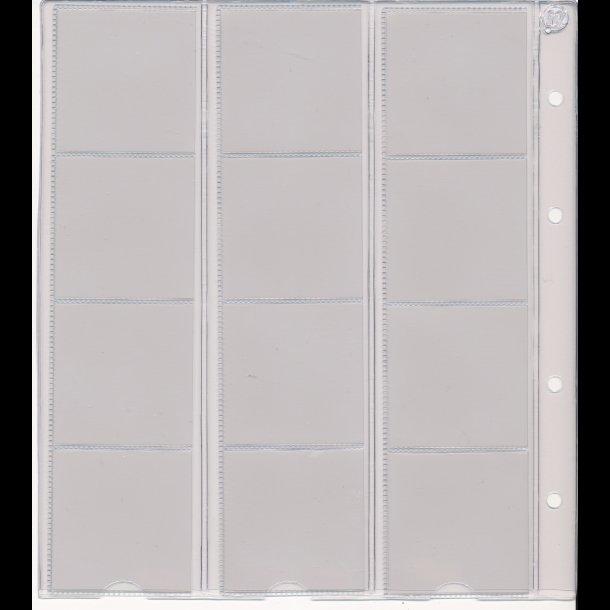 712, Møntblad med karton, 12 rum