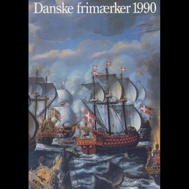 1990, årsmappe, postpris 136 kr