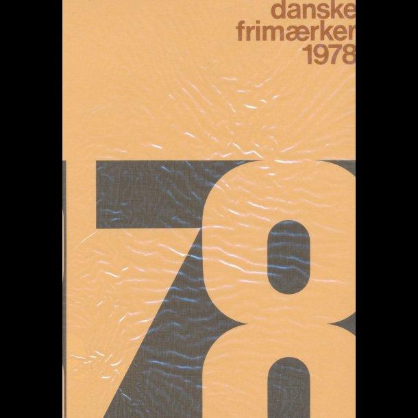 1978, årsmappe, postpris 31,90 kr