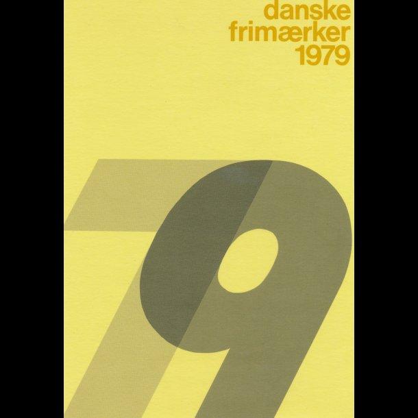 1979, årsmappe, postpris 38,50 kr