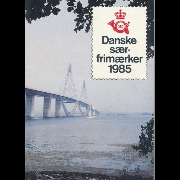 1985, Danske særfrimærker, postpris 84.10