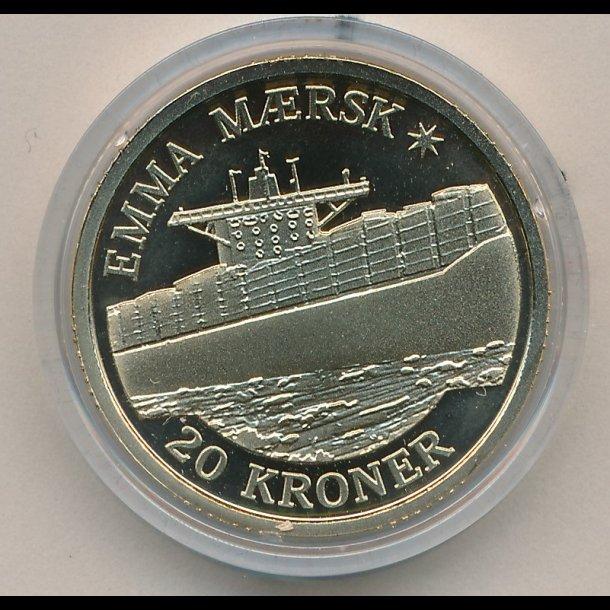 2011 20 Kroner Emma Maersk Skibsmonter Samlerforum