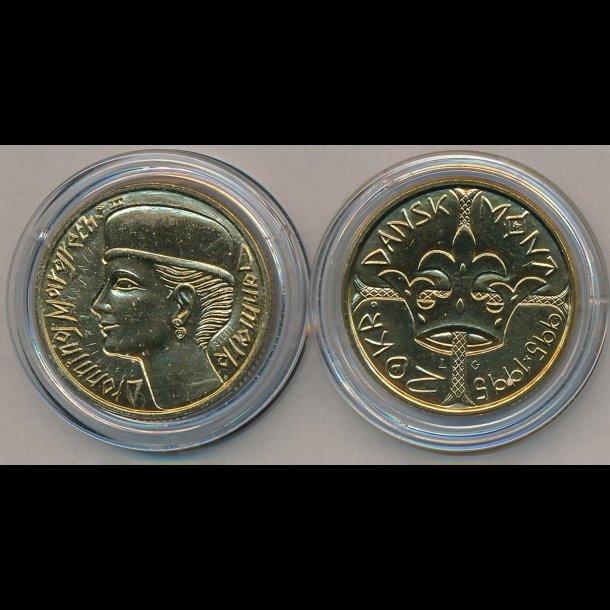 1995 20 Kroner 1000 Ars Mont Erindringsmonter Samlerforum