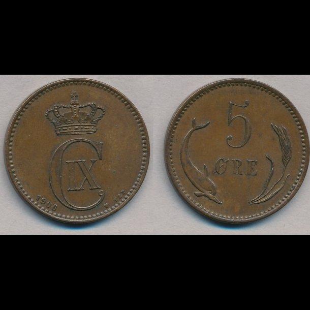 1906, 5 øre, 01