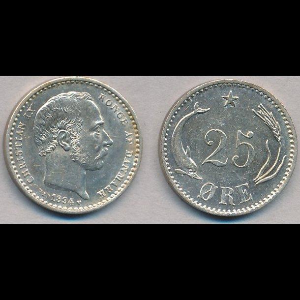 1894, 25 øre