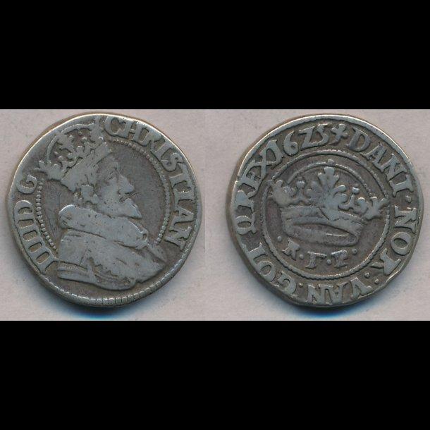 1625, Christian IV, ½ krone, H128