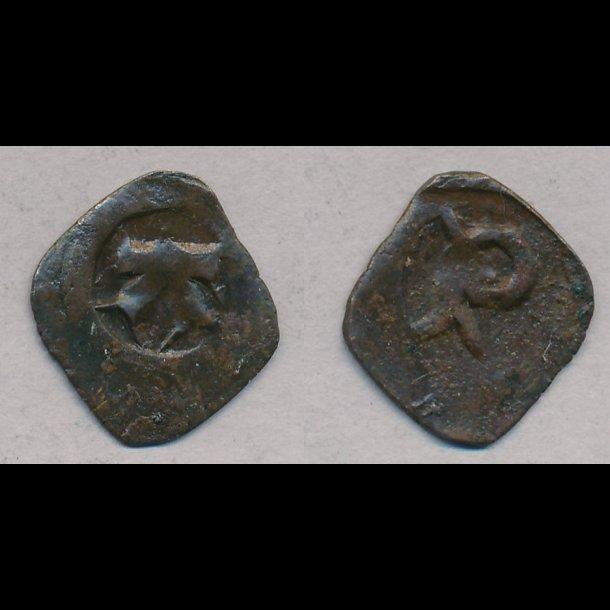 1319-1332, Christopher II, penning,  Roskilde,  S547, MB547