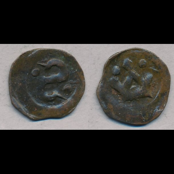 1319-1332, Christopher II, penning, Roskilde, S556, MB556