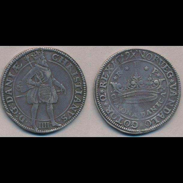 1619, Christian IV, CORONA DANICA, H105B
