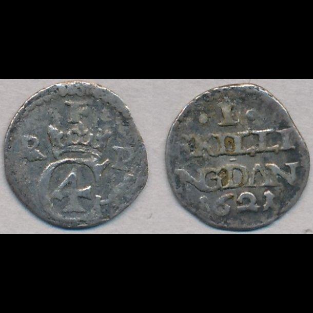 1621, Christian IV, I skilling, 1, H119B?
