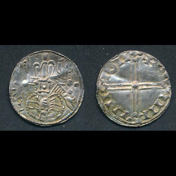1047-1075, Svend Estridsen, penning, Lund, 1++, Hauberg 6