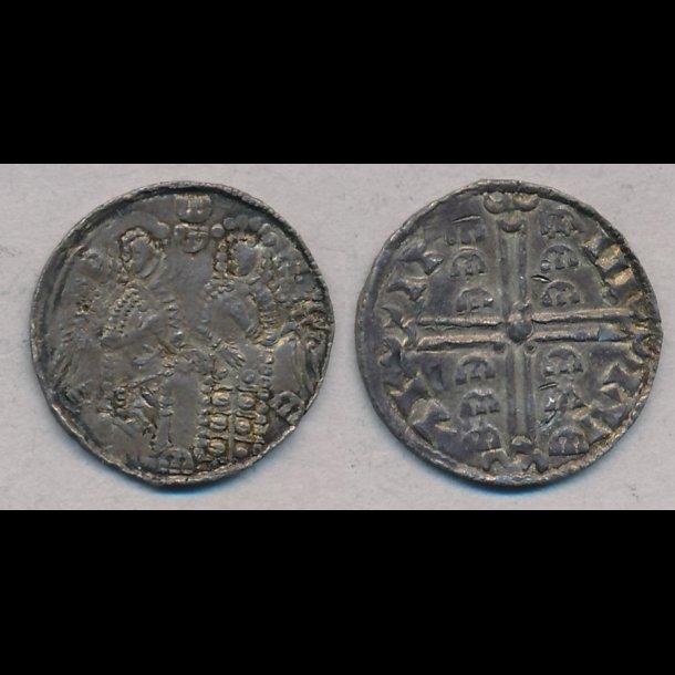 1047-1075, Svend Estridsen, penning, Lund, 1+, Hauberg 13