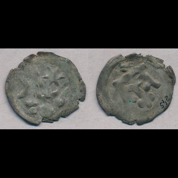 1286-1319, Erik Menved, penning, 1+, Roskilde, MB 245