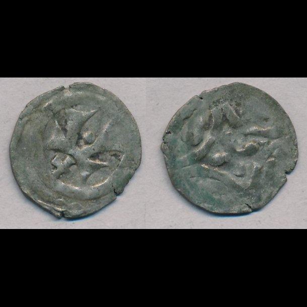 1286-1319, Erik Menved, penning, 1+, Roskilde, MB 267