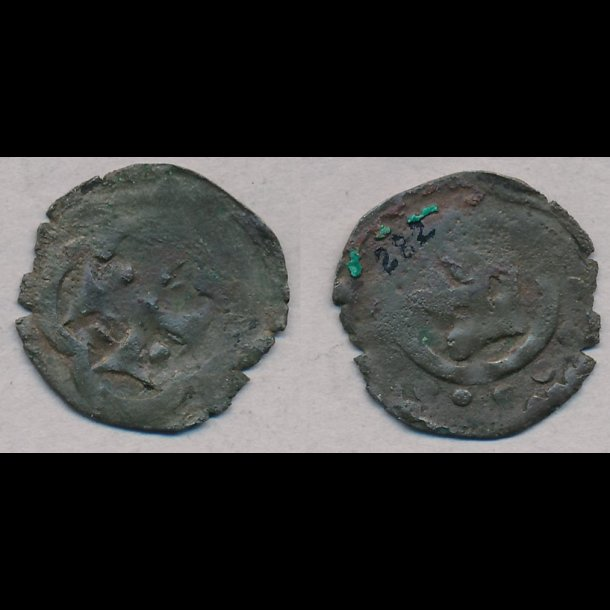 1286-1319, Erik Menved, penning, 1+ / 1, Roskilde, MB 282