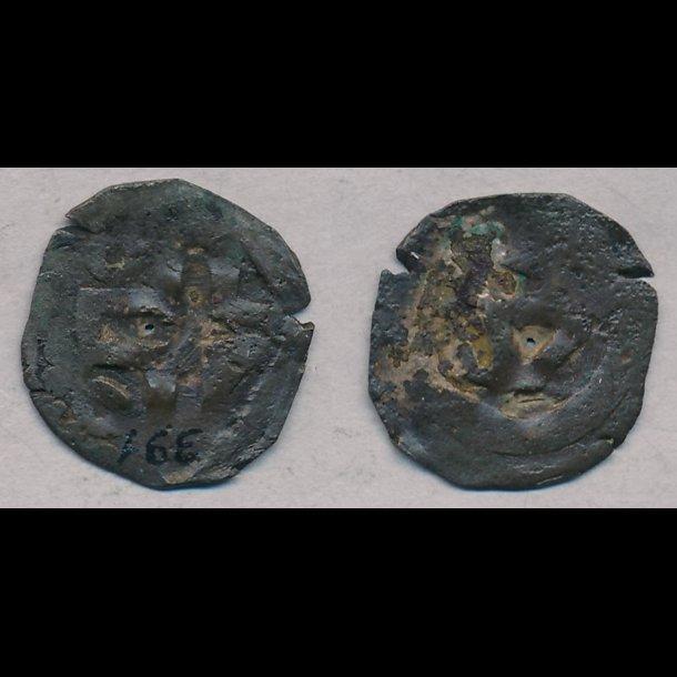 1319-1332, Christoffer II, penning, Roskilde, 1-, MB 391