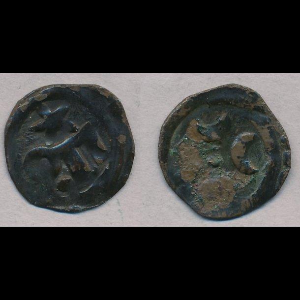 1319-1332, Christoffer II, penning, Roskilde, 1, MB 421