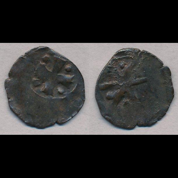 1319-1332, Christoffer II, penning, Roskilde?, 1+, MB 544