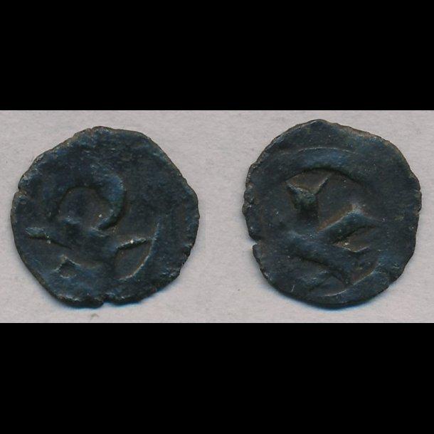 1319-1332, Christoffer II, penning, Roskilde, 1+ / 1, MB 547