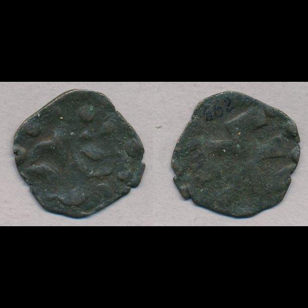 1319-1332, Christoffer II, penning, Roskilde, 1, MB 562