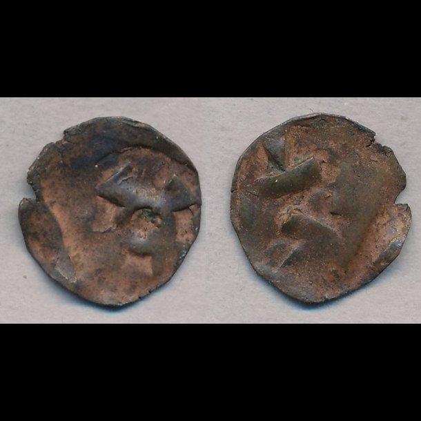 1319-1332, Christoffer II, penning, Nørre Jylland, 1, MB 580