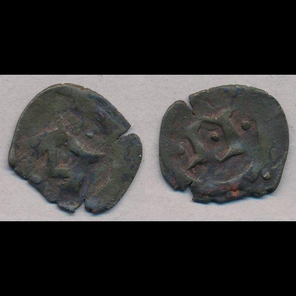 1319-1332, Christoffer II, penning, Nørre Jylland, 1+, MB 589
