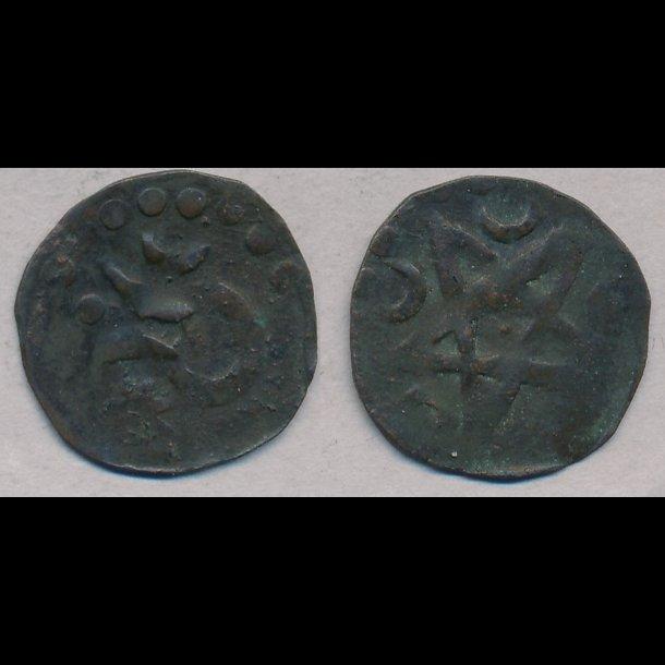 1332-1340, Johan den Milde, penning, Saxkøbing, 1+, MB 568