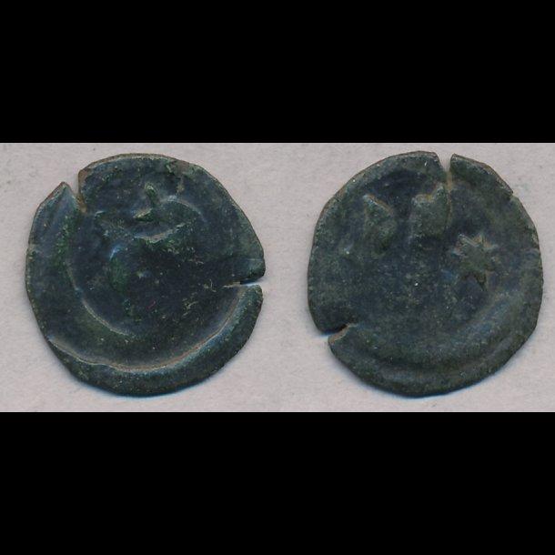 1335-1336, Biskop Svend, penning, Aarhus, 1 / 1+, MB 681