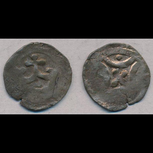 1286-1319, Erik Menved, penning, Ribe, 1+, S474