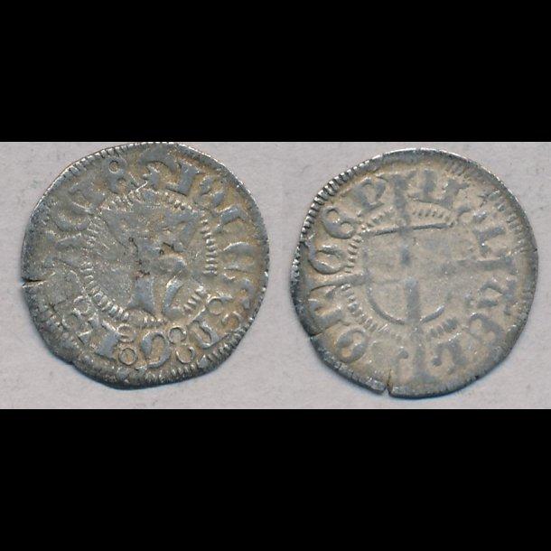 1483-1513, Hans, hvid, Aalborg, 1+ / 1, S 2.3, G 36