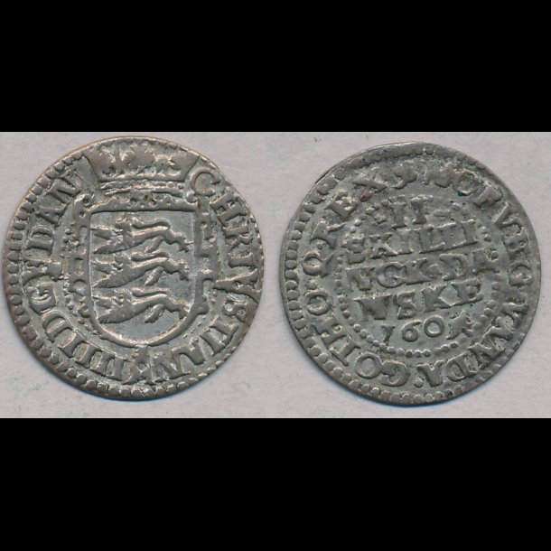 1604, Christian IV, 2 skilling, 1+, S 30.1, H 79A