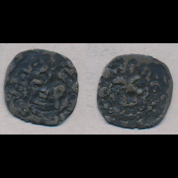 1286-1319, Erik Menved, penning, Roskilde, 1 / 1+, MB 394