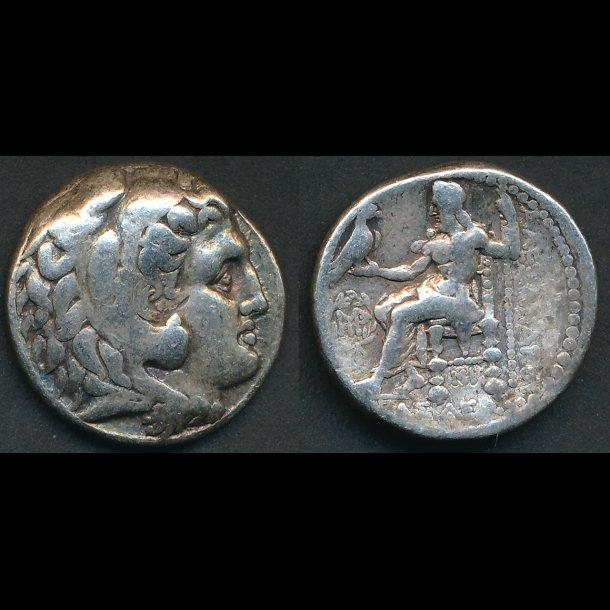 . 336-323 f.Kr. tetradrakme, Grækenland, Alexander den Store, sølvmønt, vægt ca 17g