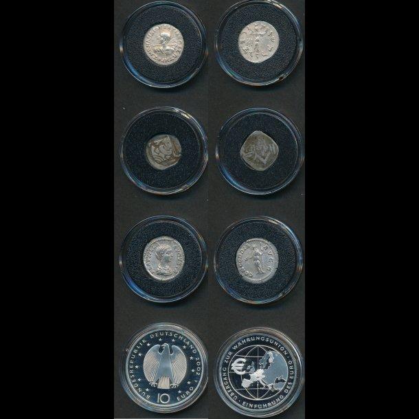 .180-130 f. Kr. -2002, Verdens vigtigste valutaer