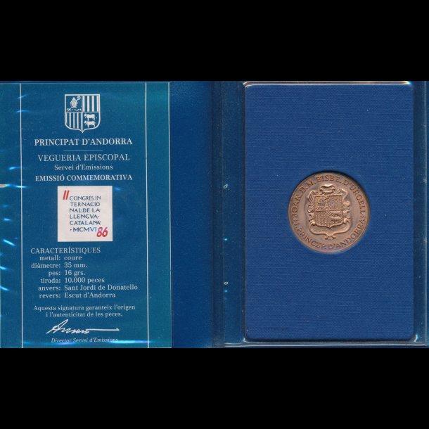 1986, Andorra mønt