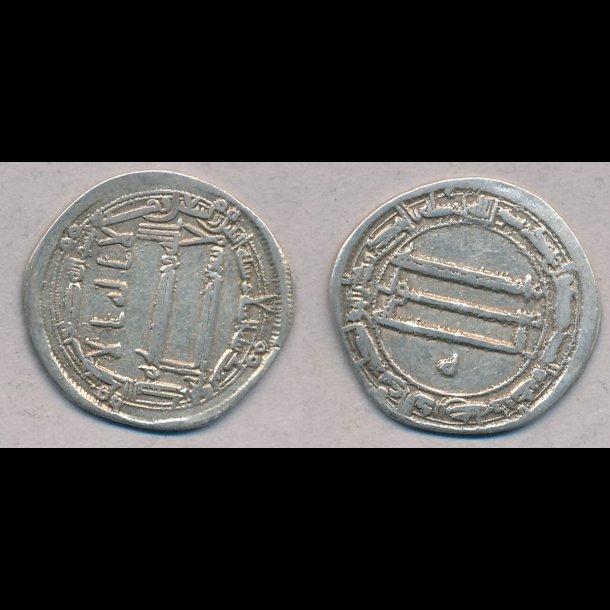 800-tallet, kufisk dirham, Harun al Rachid, 1+