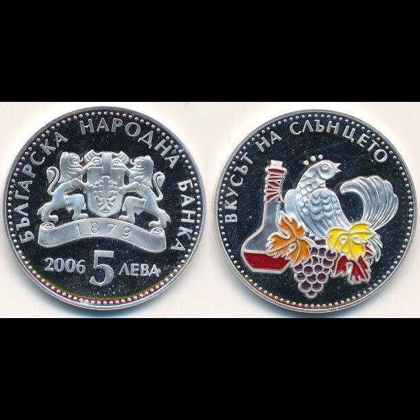 2006, Bulgarien, 5 leva