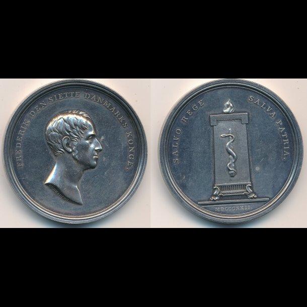 1822, Kongens helbredelse, Frederik VI,