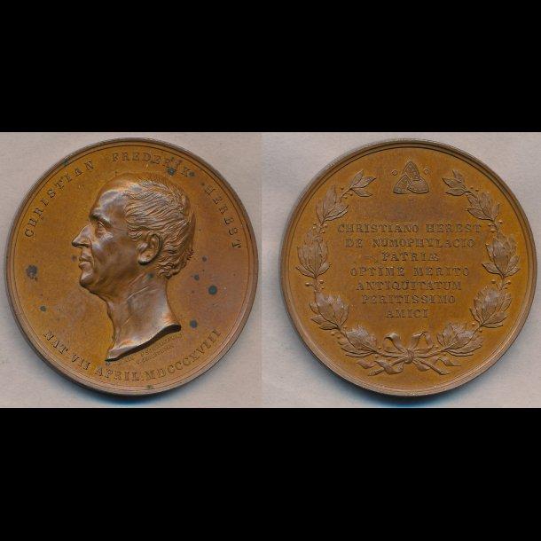 1818, Christian Frederik Herbst, bronze, 0
