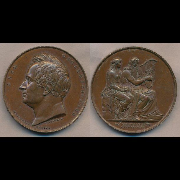 1853, Adam Oehlenschläger, bronze, 01 / 0