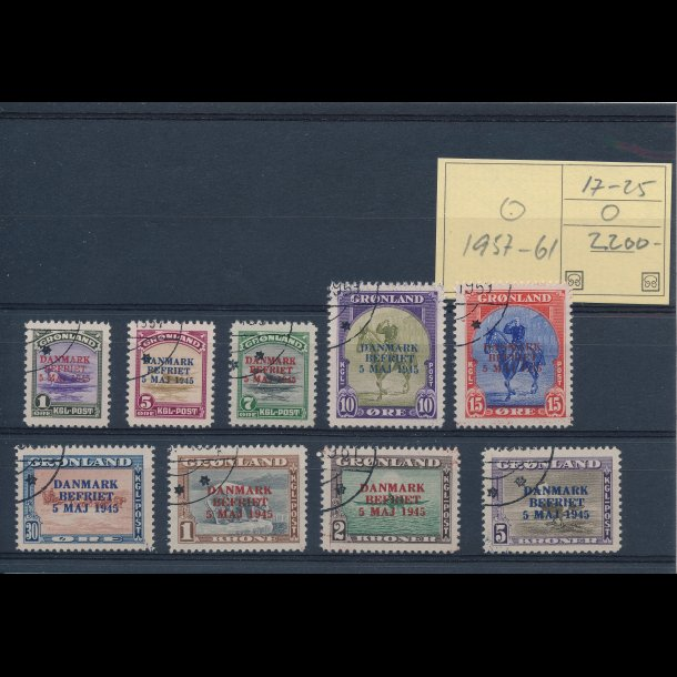 .17-25, Grønland, ʘ, 1957-61,